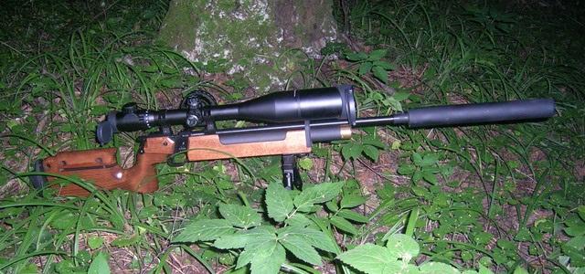 Охотничье пневматическое оружие